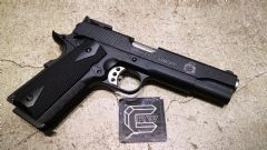 CRW special AW 1911 V12 Style GBB Airsoft Pistol Black